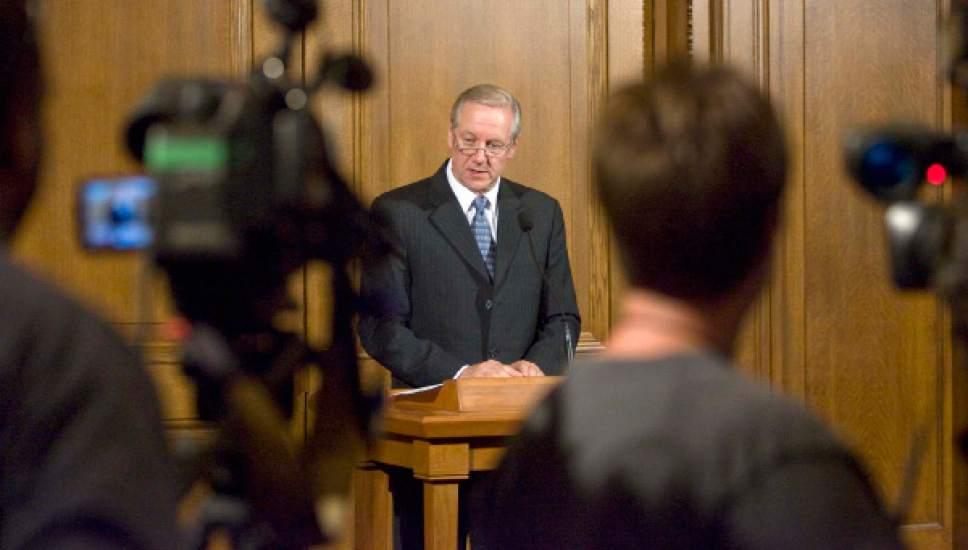 Michael Otterson Mormon PR Boss