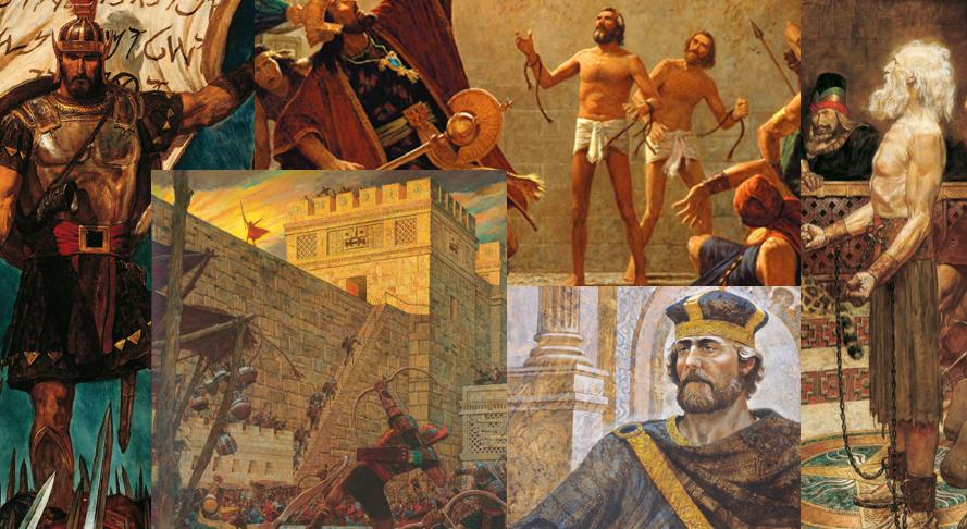 S Voice Speakers of the Book of Mormon: King Benjamin, Abinadi, Alma, Amulek, Captain Moroni, Samuel the Lamanite